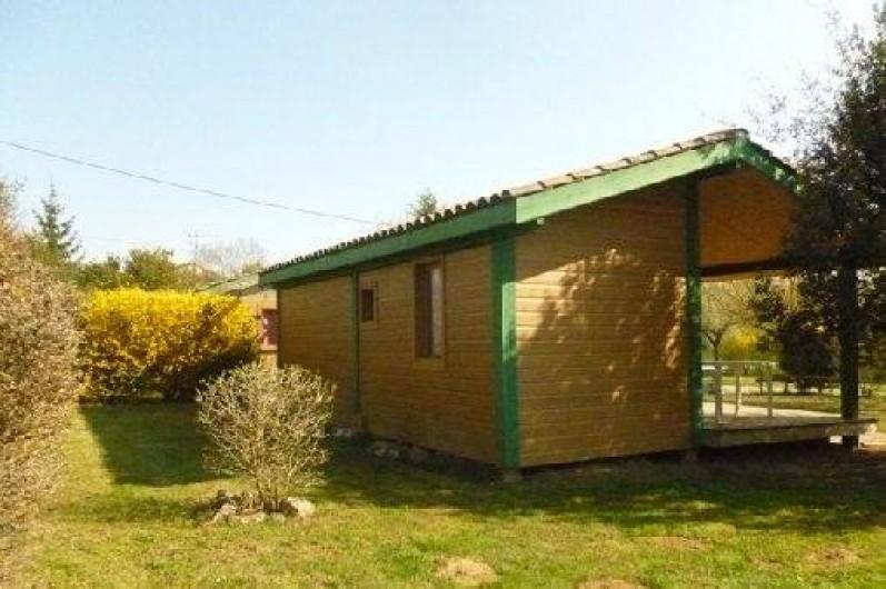 Location de vacances - Chalet à Montricoux - Chalets 40m²