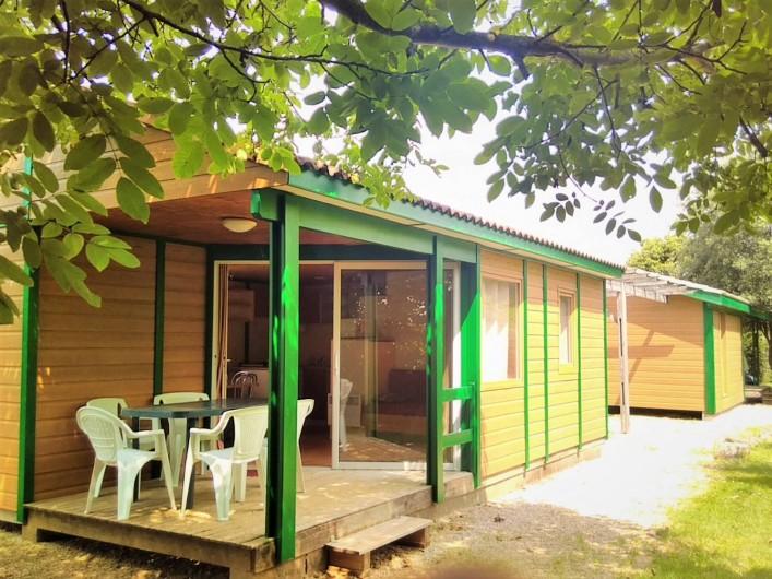 Location de vacances - Chalet à Montricoux - Chalet 7 personnes