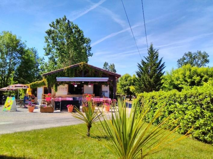 Location de vacances - Chalet à Montricoux - Bar snack