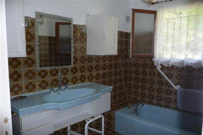 Location de vacances - Appartement à Chorges - Salle de bain