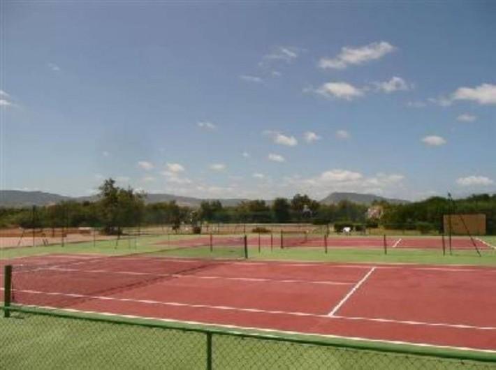 Location de vacances - Maison - Villa à Badesi - Tennis