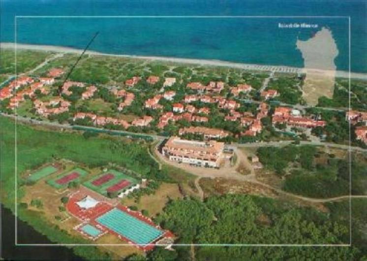 Location de vacances - Maison - Villa à Badesi - Vue aerienne