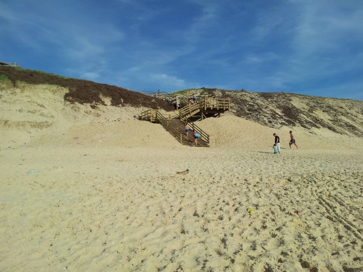 Location de vacances - Chalet à Lit-et-Mixe - accès plage