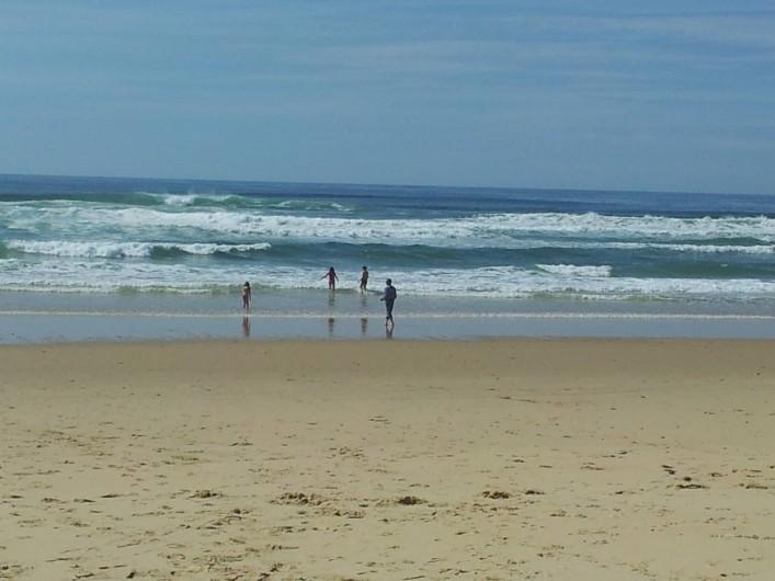 Location de vacances - Chalet à Lit-et-Mixe - la plage