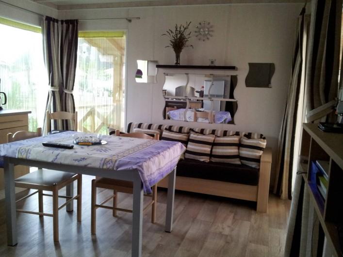 Location de vacances - Chalet à Lit-et-Mixe - salon