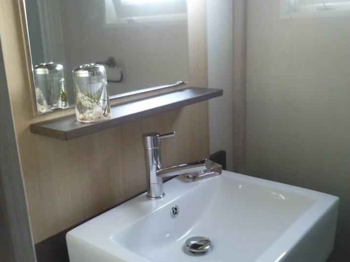Location de vacances - Chalet à Lit-et-Mixe - toilette