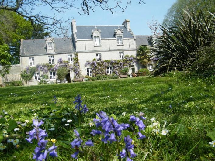 Location de vacances - Château - Manoir à Loctudy - Le manoir et son parc
