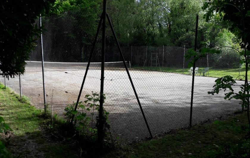 Location de vacances - Château - Manoir à Loctudy - tennis