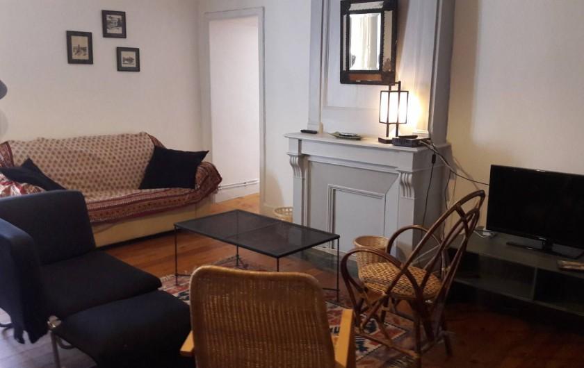 Location de vacances - Château - Manoir à Loctudy - Salon TV