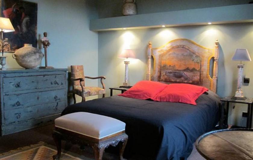 Location de vacances - Chambre d'hôtes à Salses-le-Château - Chambre Bord de Mer