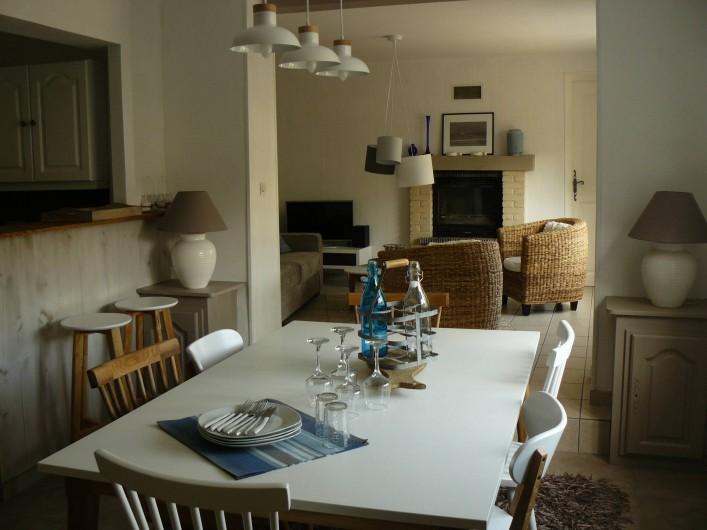 Location de vacances - Maison - Villa à Neuville-lès-Dieppe - La salle à manger