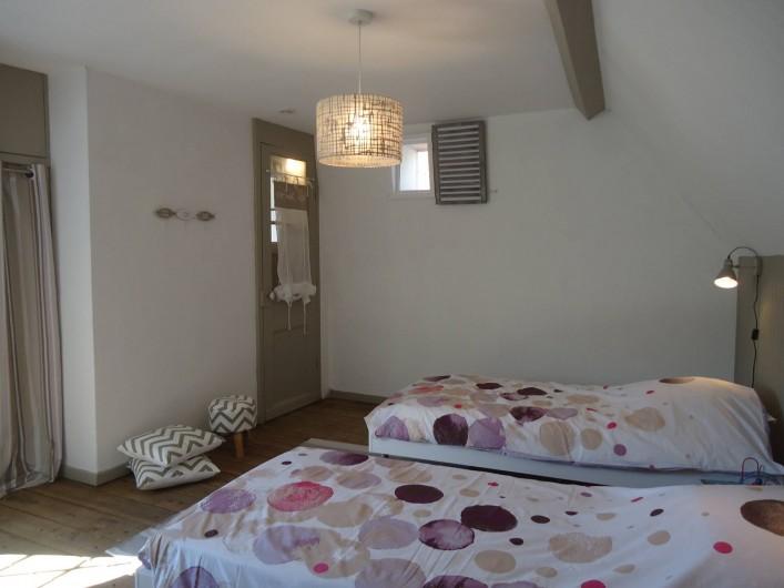 """Location de vacances - Maison - Villa à Neuville-lès-Dieppe - La chambre """"Falaise"""""""