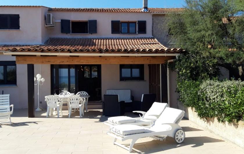 Location de vacances - Villa à Folelli