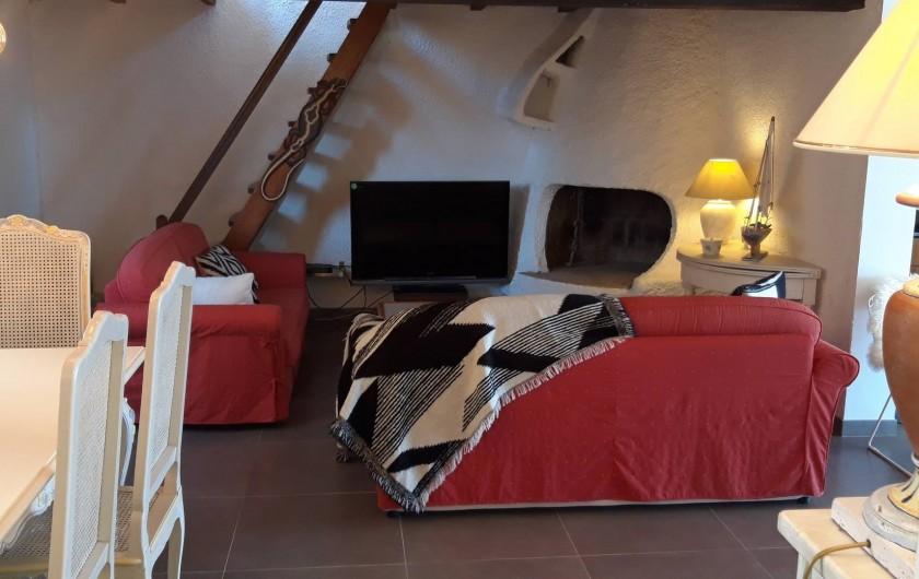 Location de vacances - Villa à Folelli - coin télé