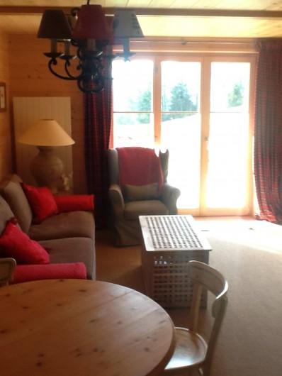 Location de vacances - Appartement à Ormont-Dessus - Salon