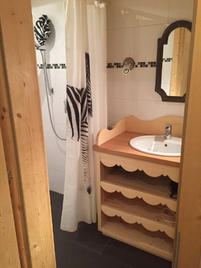 Location de vacances - Appartement à Ormont-Dessus - Salle de douche