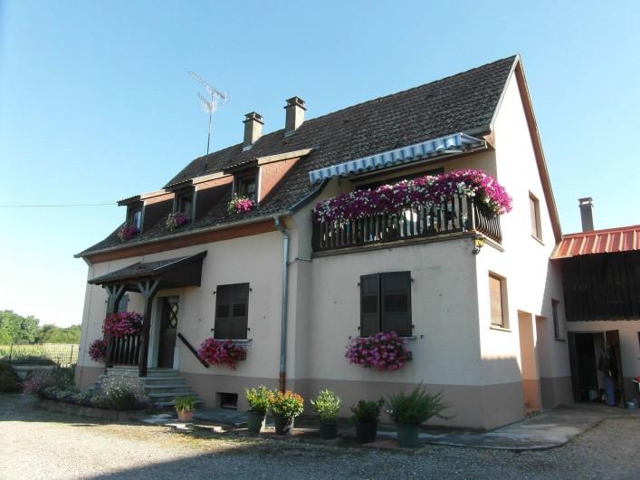 Location de vacances - Gîte à Artzenheim