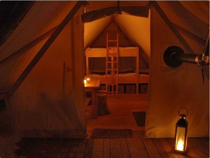 Location de vacances - Tipi à Mont-Saxonnex - Une expérience insolite réussie chez Altipik