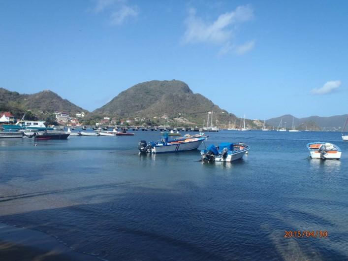 Location de vacances - Gîte à Terre-de-Haut - Quelques pas, la mer
