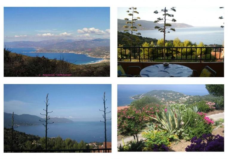 Location de vacances - Appartement à Tiuccia - Vue du balcon