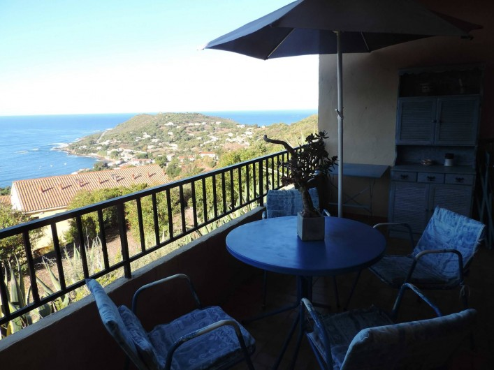 Location de vacances - Appartement à Tiuccia - Balcon