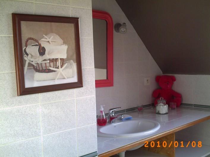 Location de vacances - Maison - Villa à Saint-Nolff - La salle de bains