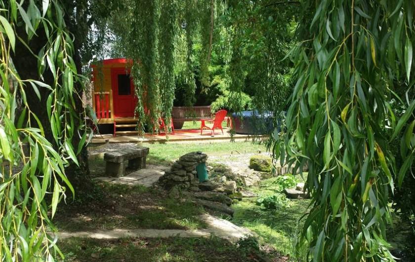 Location de vacances - Chambre d'hôtes à Fontet - Roulotte