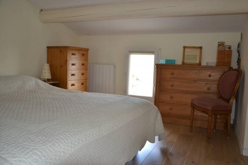 Location de vacances - Villa à Aix-en-Provence - Chambre 4 - exposée Est - 12m2 avec lit 180cm haut de gamme+ commodes+placard