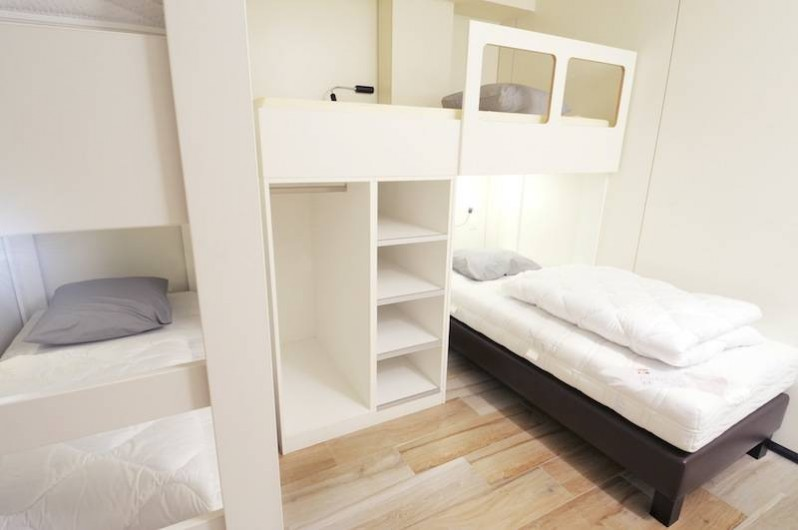 Location de vacances - Gîte à Bomal - 2 chambres de 4 pers.