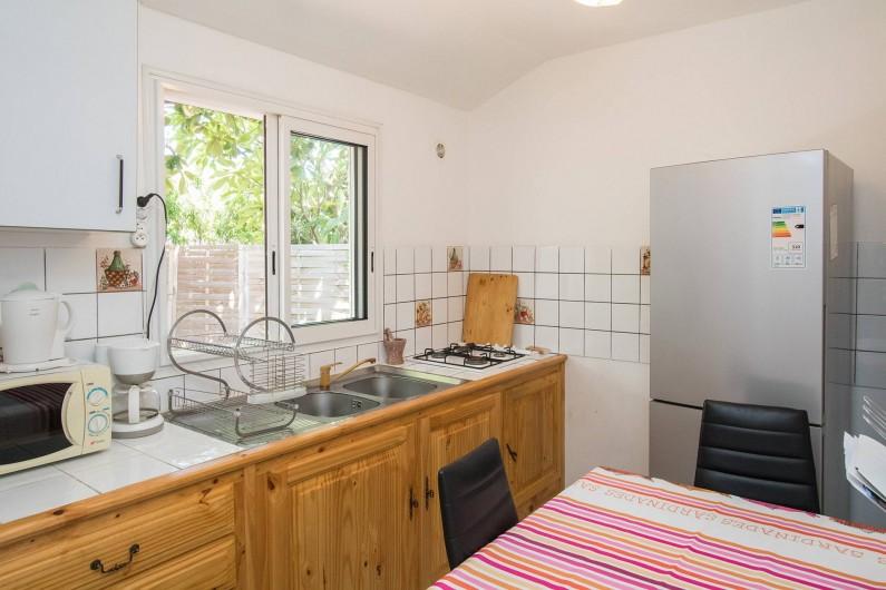 Location de vacances - Studio à La Saline-Les-Bains - Studio Badamier