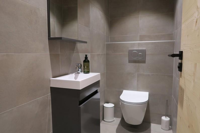 Location de vacances - Appartement à Les Gets - Toilette commun