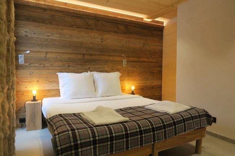 Location de vacances - Appartement à Les Gets - Chambre double