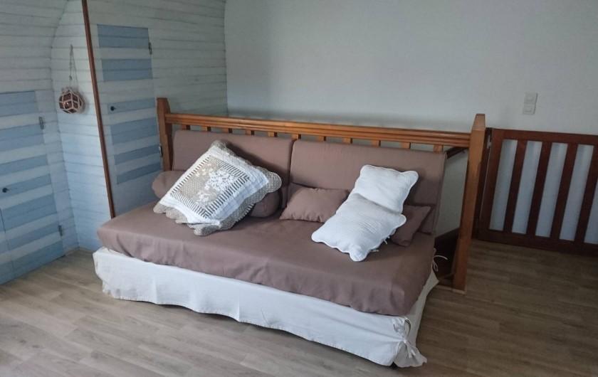 """Location de vacances - Gîte à Louannec - Gite """"Boc'han"""" lit supplémentaire"""
