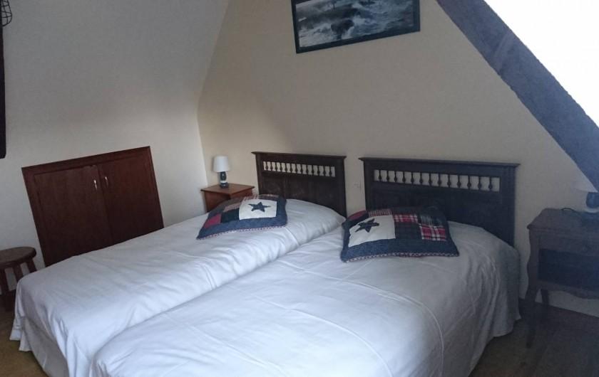 """Location de vacances - Gîte à Louannec - Gîte """"Ormel"""" : Chambre 2 : 2 personnes"""