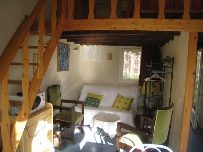 Location de vacances - Villa à Gouttières - Coin salon