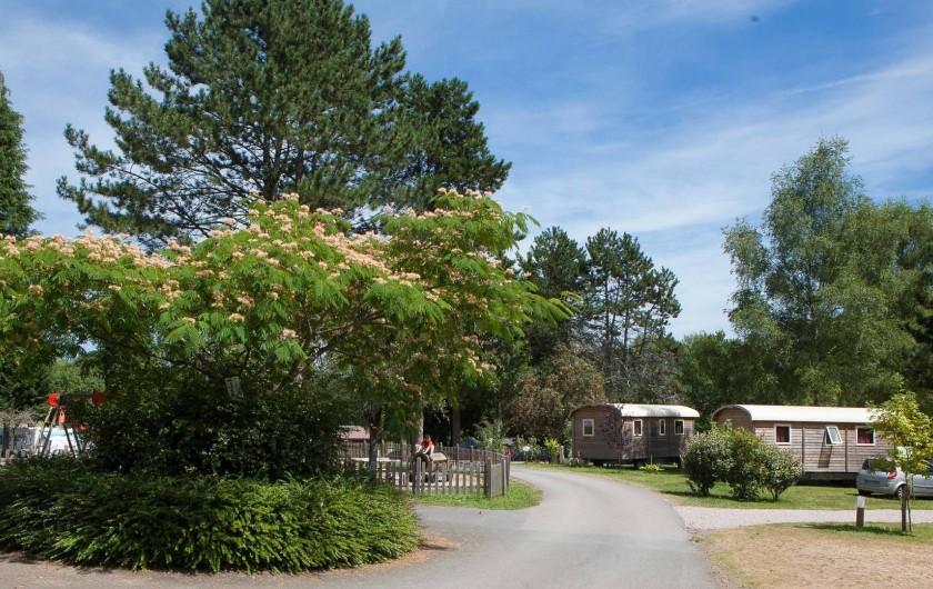 Location de vacances - Bungalow - Mobilhome à Beynat - Roulottes, originalité et confort.
