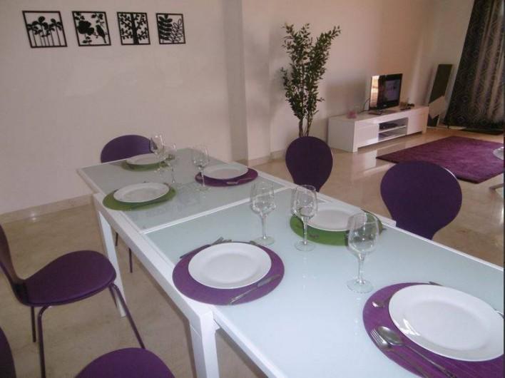 Location de vacances - Appartement à Marina de Casares - L'appartement est prévu pour 6 personnes