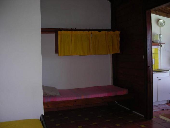 Location de vacances - Appartement à Deshaies - lit 90