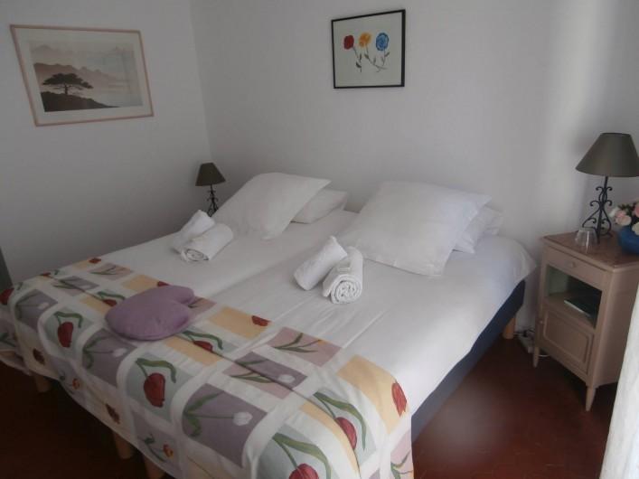 Location de vacances - Chambre d'hôtes à Bouyon - CHAMBRE MAGALI 2 2 PERSONNES 50 €/NUIT