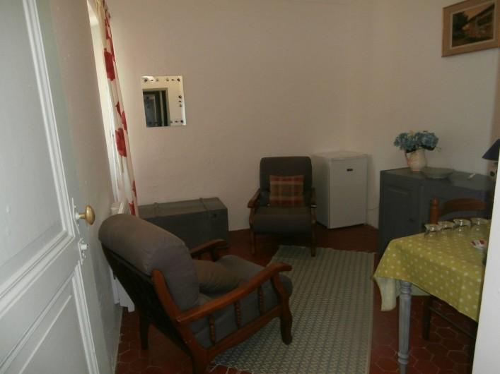 Location de vacances - Chambre d'hôtes à Bouyon - SALON CHAMBRES MANON ET UGOLIN