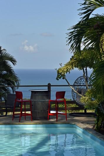 Location de vacances - Bungalow - Mobilhome à Deshaies - Marjorie et Bruno les propriétaires