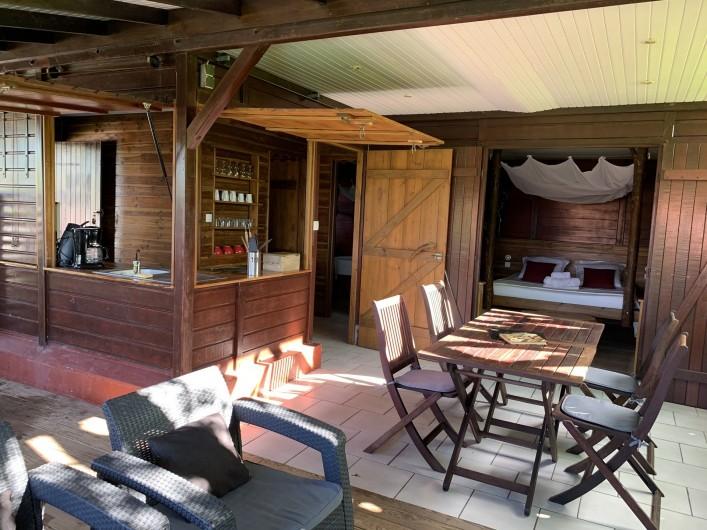 Location de vacances - Bungalow - Mobilhome à Deshaies