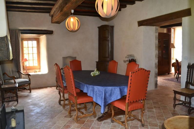 Location de vacances - Gîte à La Baconnière - Salle à manger