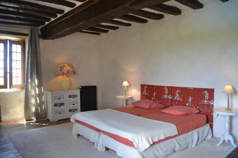 Location de vacances - Gîte à La Baconnière - Chambre 1er étage (2 lits 90x200)