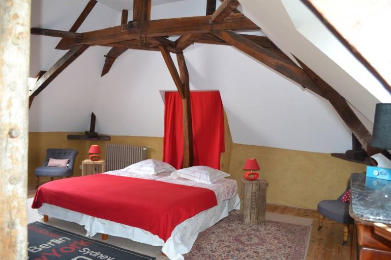 Location de vacances - Gîte à La Baconnière - Chambre 2ème étage (2 lits 90x200)