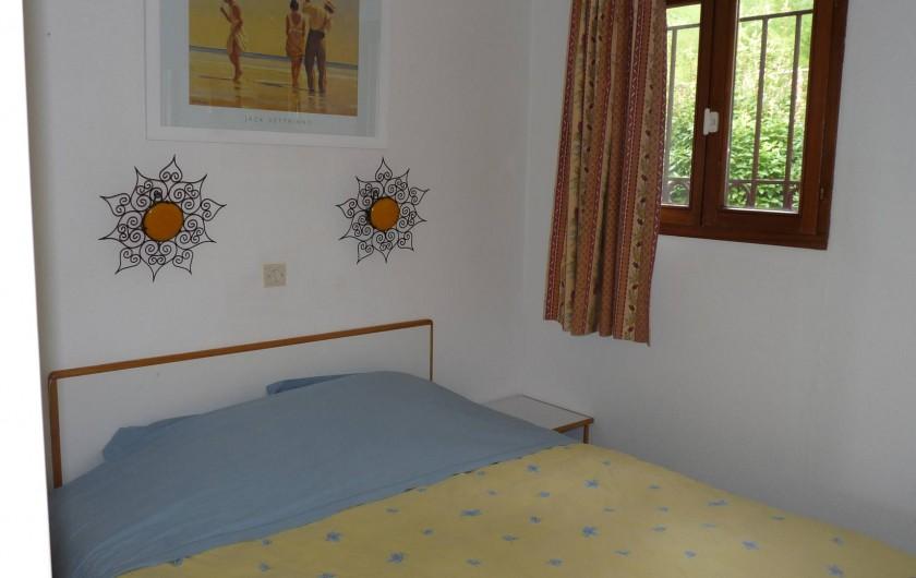 Location de vacances - Appartement à Cannes - La chambre principale 160X200.