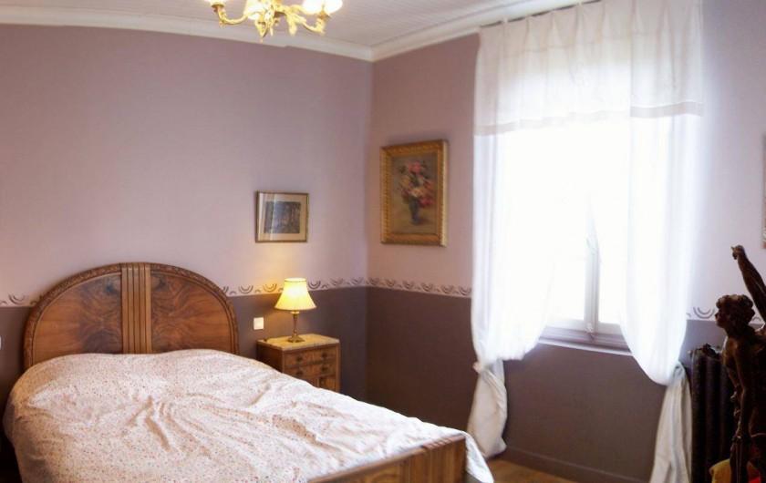 Location de vacances - Maison - Villa à Castéra-Verduzan - la chambre taupe, au 1°étage