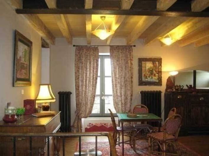 Location de vacances - Maison - Villa à Castéra-Verduzan - dans le séjour, la table de jeu