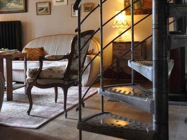 Location de vacances - Maison - Villa à Castéra-Verduzan - dans le séjour, le coin salon