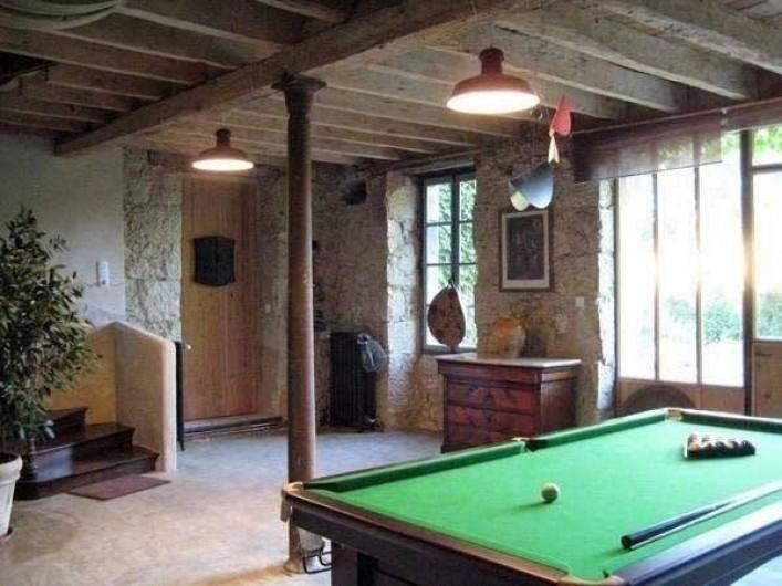 Location de vacances - Maison - Villa à Castéra-Verduzan - la salle de billard